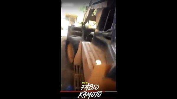 01072019 joca - Vereador grava vídeo denunciando abandono de máquina pertencente ao município de Joca Claudino na cidade de Coremas