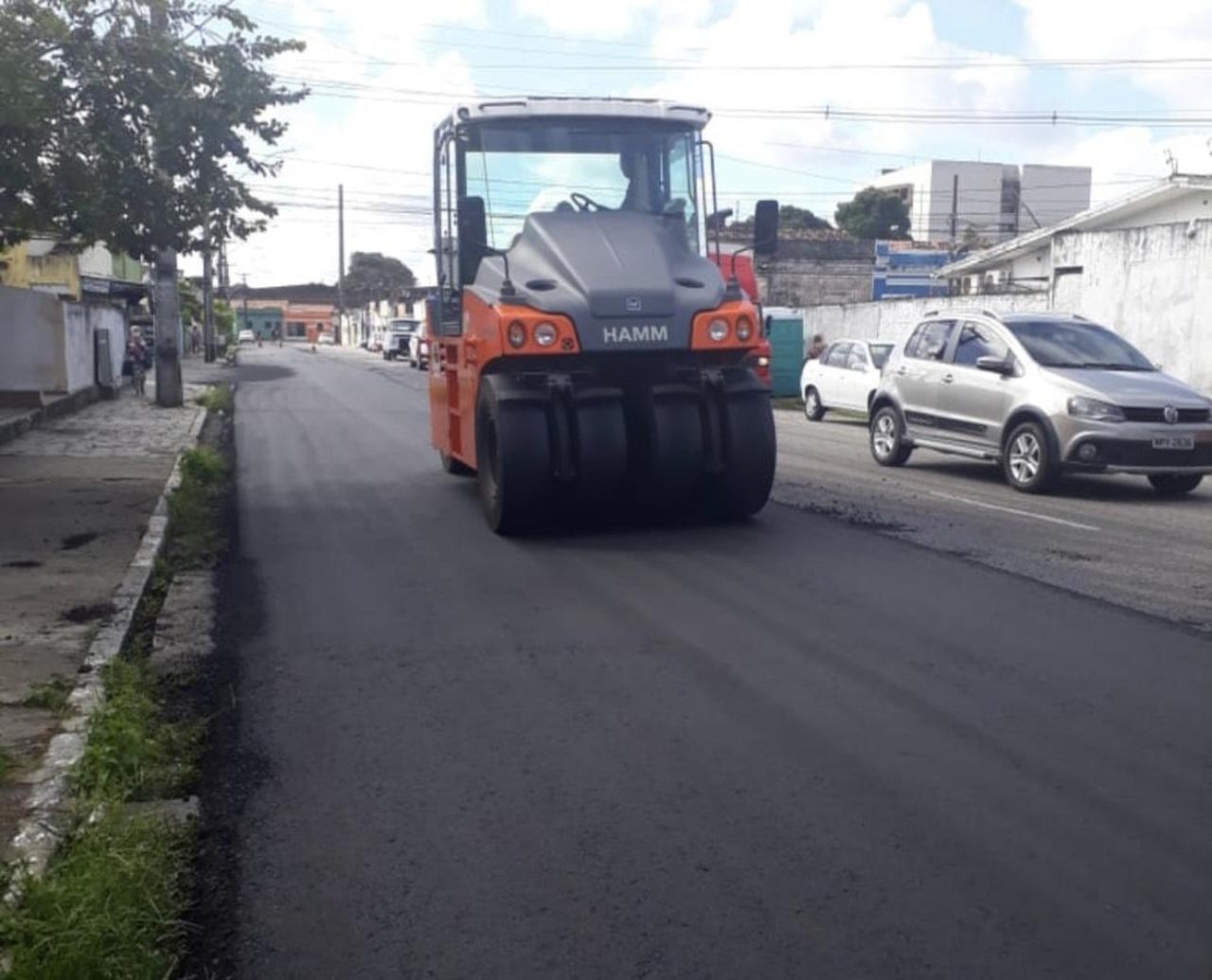 01072020 ruasjp Easy Resize.com - Prefeitura de João Pessoa avança com programa 'Ação Asfalto'; já são 56,7 km de vias asfaltadas ou recapeadas só este ano