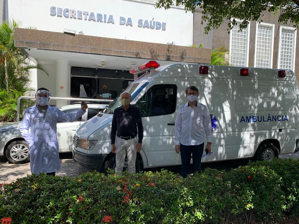 03062020 ambulancia - Shopping doa UTI móvel ao Estado para o combate à Covid-19