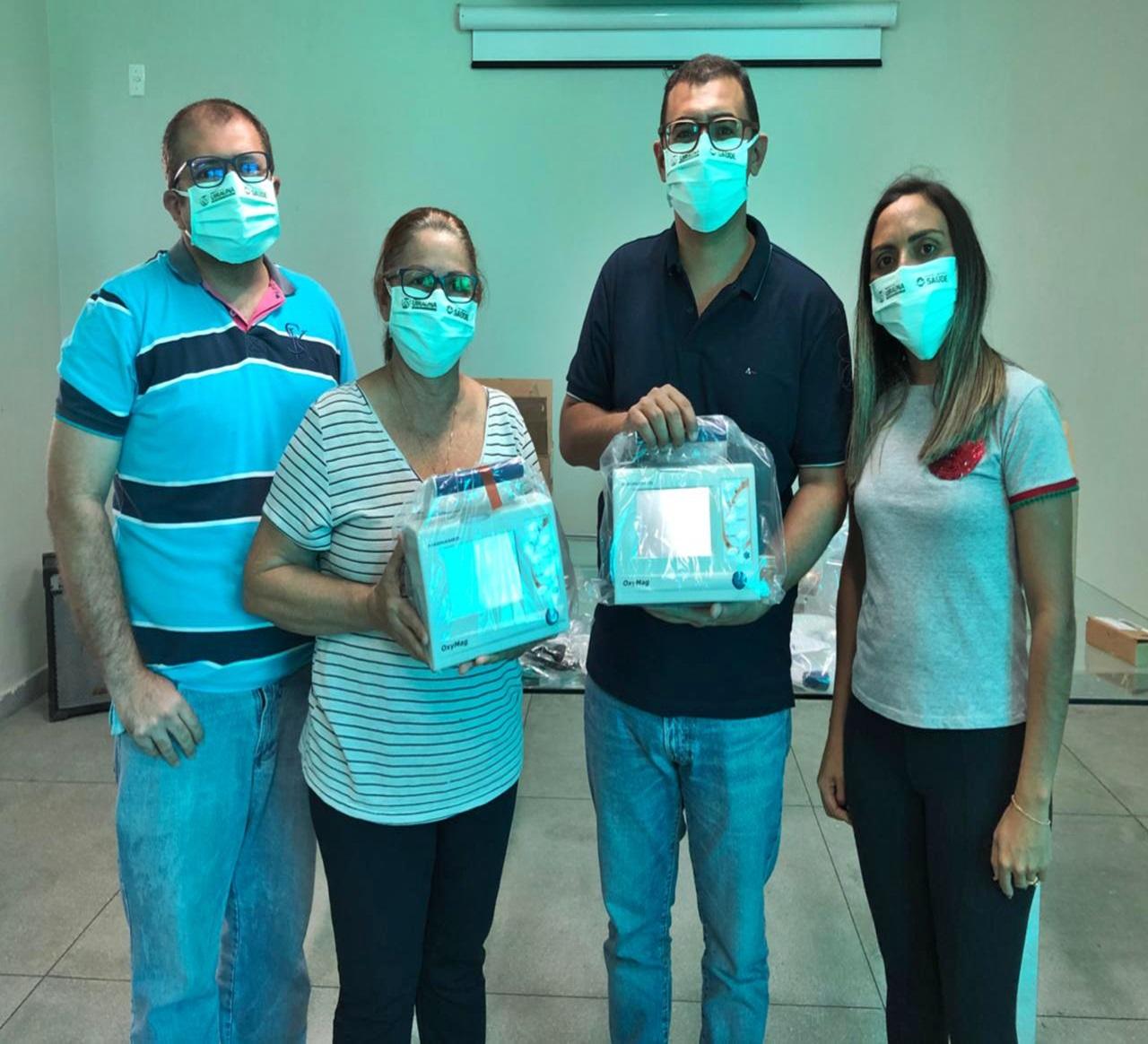03072020 UIRAUNA - UIRAÚNA: Prefeitura Municipal recebe investimento de mais de R$ 90 mil em novos respiradores para o SAMU