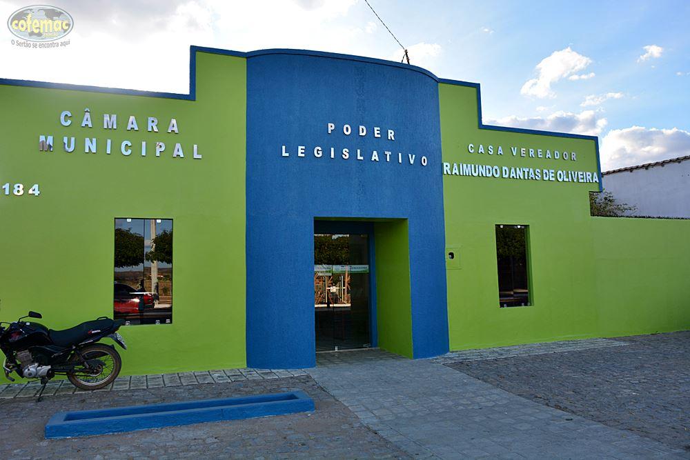 07052019 camarampjm - Câmara Municipal de Poço José de Moura passa por reforma estruturante para melhor acomodar vereadores, servidores e população.