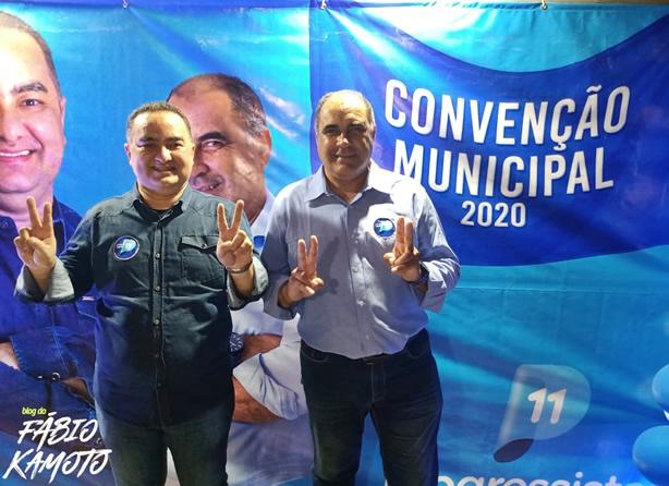 10092020 2 - Marquinhos Gomes e Aurilene Barbosa tem nomes homologados durante convenção partidária em Bernardino Batista