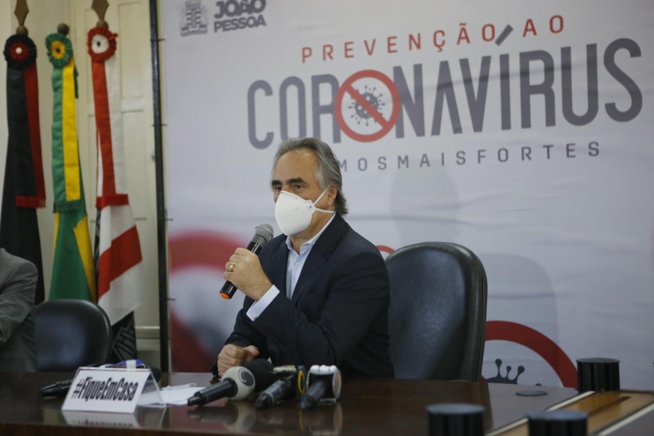 12072020 Luciano Cartaxo Easy Resize.com - JOÃO PESSOA : Luciano Cartaxo sanciona projeto de lei e suspende pagamento de empréstimos consignados por três meses