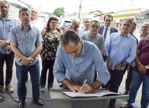 13052019 lcod - Luciano Cartaxo anuncia 14 ruas contempladas pelo Ação Asfalto em Cruz das Armas e programa cria novas rotas de ligação entre bairros