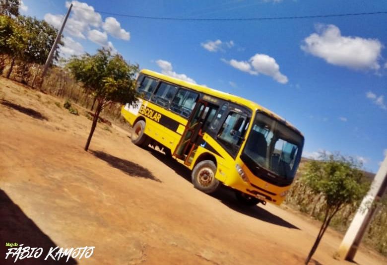 18072019 onibusvv - NO RN: Ônibus quebra e deixa alunos sem ir à escola há vários dias em Venha-Ver