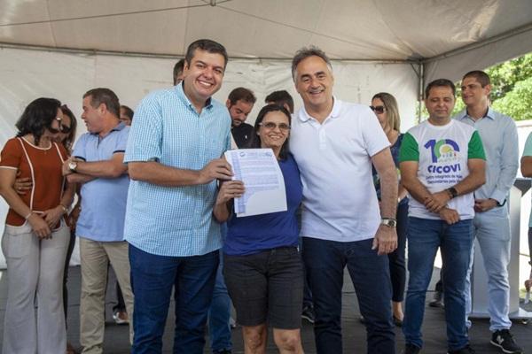 18082019 cartaxo - Cartaxo entrega 190 títulos de regularização fundiária e beneficia quase 800 pessoas no Muçumagro