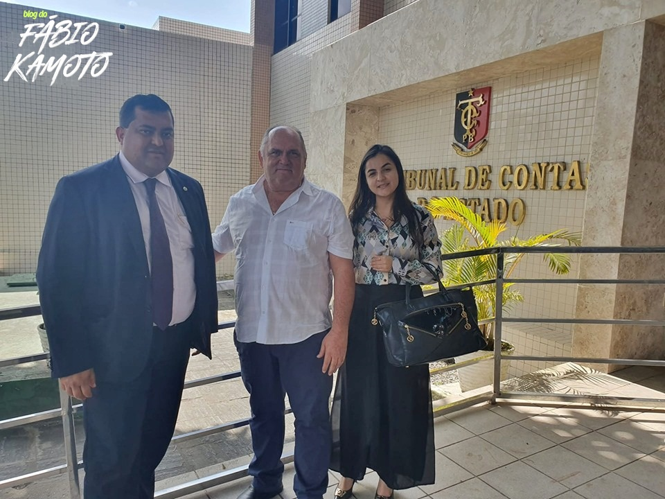22082019 coloral - MAIS UMA: Contas de 2018 do Prefeito Coloral de São José da Lagoa Tapada são aprovadas por unanimidade pelo TCE