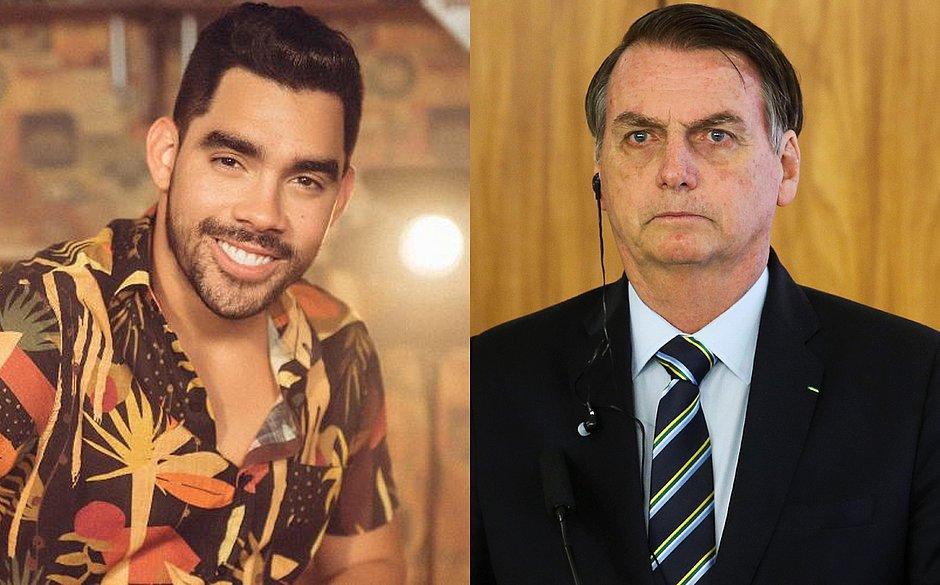 27052019 bolsonaroegd - Bolsonaro lamenta morte de Gabriel Diniz: 'Deus receba de braços abertos'