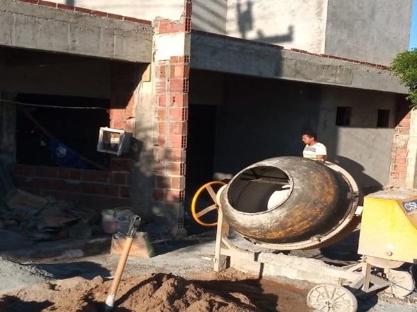 28052020 U1 - SAÚDE EM VIEIRÓPOLIS: Obra de construção de UBS na Comunidade de Umburana segue em ritmo acelerado; VEJA.