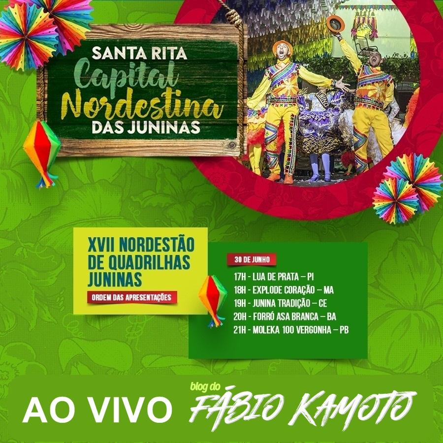 30062019 capa - AO VIVO : NORDESTÃO DE QUADRILHAS JUNINAS