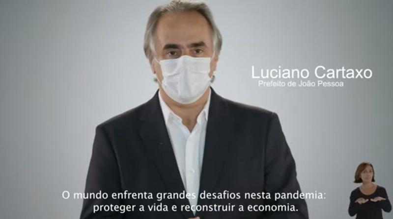 31052020 livecartaxo - Luciano Cartaxo vai às redes sociais afirmar que medidas mais rígidas criam condições seguras para plano de retomada da economia; VEJA VÍDEO
