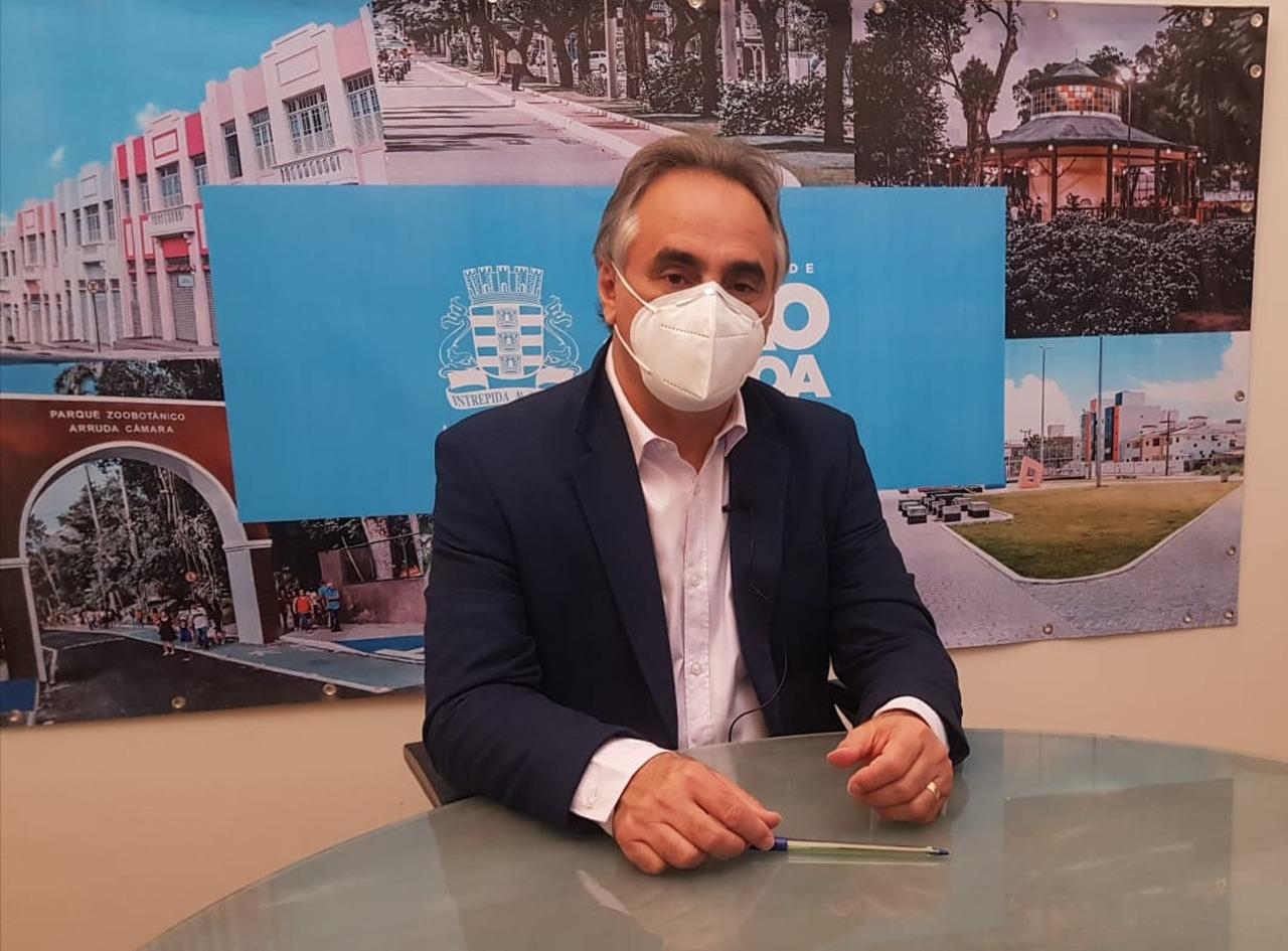 31072020 Luciano Cartaxo na live Easy Resize.com - Com nota máxima, João Pessoa é apontada como capital mais transparente do País pela terceira vez consecutiva