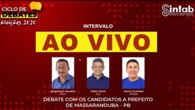 AOVIVO 390x220 - AO VIVO : Assista aqui ao debate entre os candidatos a prefeito de Massaranduba