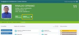 RINALDO 300x133 - Eleições 2020: deferido o primeiro pedido de registro de candidatura a prefeito em Joca Claudino, Sertão da PB.
