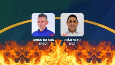 debateaparecida 390x220 - Em Aparecida: João Neto e Chico da Aba, se enfrentam em debate promovido pela TV Diário do Sertão nesta terça-feira (27)