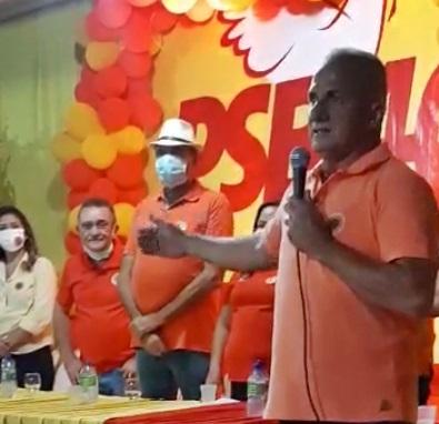helio - Raimundo Antunes e Hélio Pordeus realizam primeiro comício virtual de Santa Cruz.