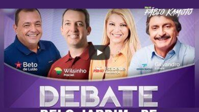 CAPADEBATEBJ 390x220 - AO VIVO : Assista aqui ao debate entre os candidatos a prefeito de Belo Jardim-PE