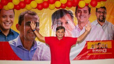 DIMAS NOVA 390x220 - O HOMEM DISPAROU : Sousense Dimas Gadelha lidera pesquisa com 43% em São Gonçalo-RJ