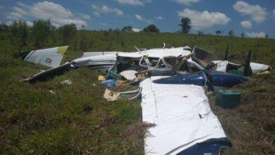 aviaocaiu 390x220 - URGENTE : Morre filho de Deca do Atacadão em acidente aéreo, no interior de SP