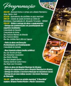 programacao 249x300 - Prefeitura Municipal de Uiraúna lança programação alusiva ao aniversário de 67 anos de Emancipação Política da cidade