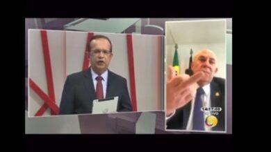 NEY 390x220 - Preces de Ney Suassuna sobre a saúde de Maranhão mostra o seu tamanho politico ao promover ao vivo em programa de tv gestos obscenos,VEJA VIDEO