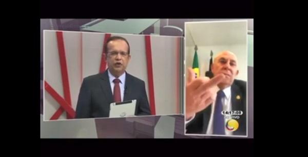 NEY - Preces de Ney Suassuna sobre a saúde de Maranhão mostra o seu tamanho politico ao promover ao vivo em programa de tv gestos obscenos,VEJA VIDEO