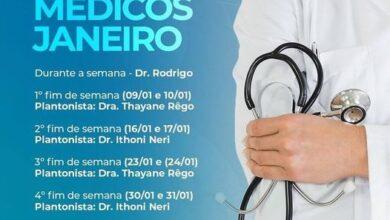 SAUDE 390x220 - NO RN : Prefeitura de Venha Ver divulga escala de médicos e informações sobre a pandemia no município; VEJA.