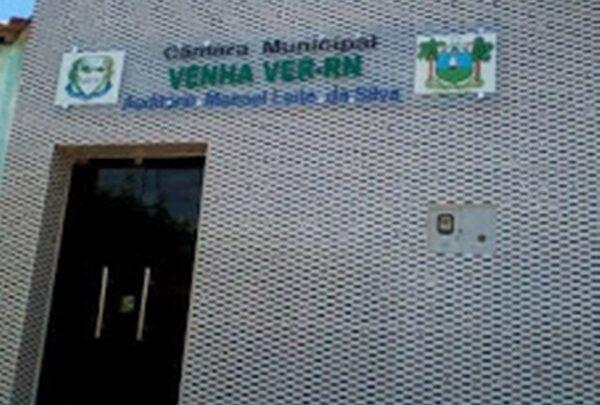 VENHA VER CAMARA 600x405 - NOVIDADE : Sessão da Câmara Municipal de Venha Ver será transmitida ao vivo pela Rádio 105,9 FM