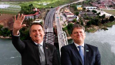 bolsonaro ponte 390x220 - FAZENDO A DIFERENÇA: Bolsonaro inaugura ponte que petistas prometiam entregar em 2014