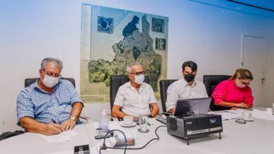 ciceroreuniao 390x220 - Cícero Lucena se reúne com ministro da Saúde para definir vacinação e defende profissionais da educação no grupo prioritário