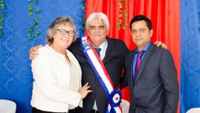 possePB3 390x220 - Paulo Braz e Vanzinho Duarte tomam posse como prefeito e vice em Poço José de Moura