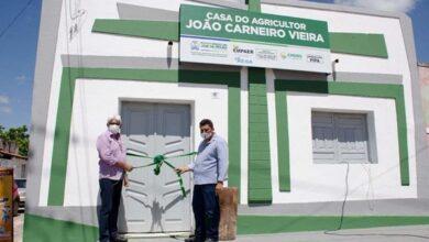 casa pjm 390x220 - Prefeitura de Poço José de Moura inaugura Casa do Agricultor