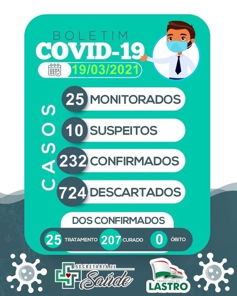 03 03 - Após 1 ano de pandemia, cidade de Lastro registra primeira morte por covid-19; VEJA