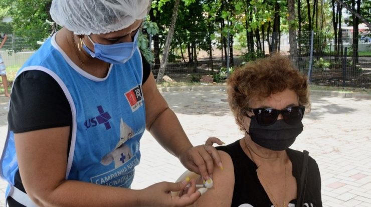 1 1 - João Pessoa já tem mais pessoas imunizadas com a 1ª dose do que diagnosticadas com a Covid-19