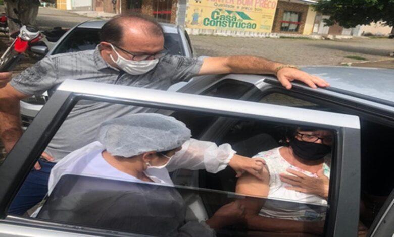 VACINA BONITO2 780x470 - Prefeitura de Bonito de Santa Fé inicia vacinação contra Covid-19 para idosos a partir de 70 anos