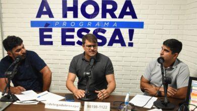 delegado nova 390x220 - Delegado e vice-prefeito eleito de Arcoverde presta entrevista em programa apresentado pelo Deputado Estadual Delegado Lessa