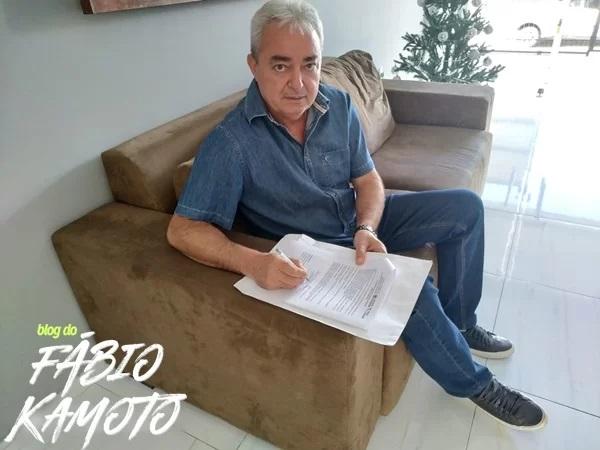salvan mendes - Ex-prefeito do município de Nazarezinho, Salvan Mendes, tem contas aprovadas por unanimidade pela Câmara Municipal