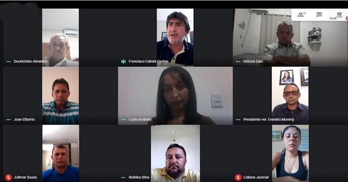 vieiropolis sessao - Vereadores aprovam autorização para Prefeitura de Vieirópolis comprar vacinas contra a Covid-19