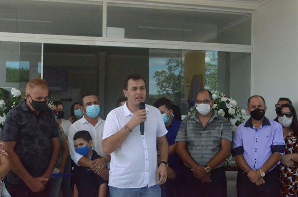 01 - 100 DIAS DE GESTÃO : Prefeito de Triunfo Espedito Filho entrega UBS no distrito de Cajuí
