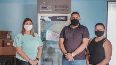 CAMARA FRIA 390x220 - Prefeitura de Aparecida recebe doação de câmara fria do Governo do Estado para armazenar/conservar doses de vacinas