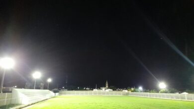 ESTADIO LASTRO 390x220 - LASTRO: Com 95% de obra já concluída, Prefeito Dr. Athaíde visita obra do estádio municipal para avaliar gramado e últimos detalhes para inauguração.