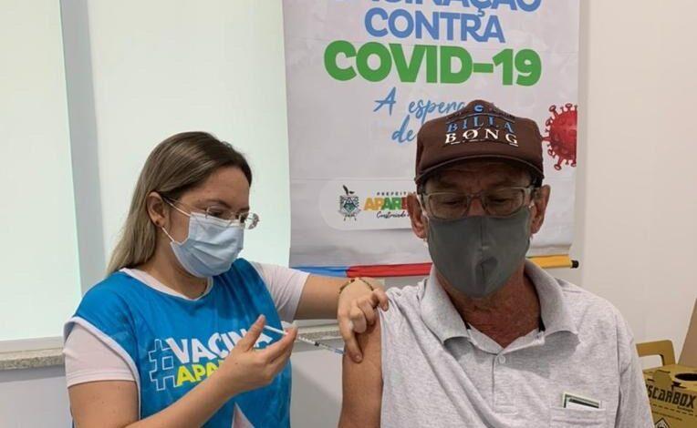VACINA APARECIDA GRUPOS 764x470 - IMUNIZAÇÃO: Prefeitura de Aparecida vacinou neste sábado grupo de 65 a 69 anos em 04 postos de vacinação para concluir grupos prioritários.