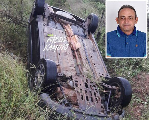acidente vando 581x470 - Presidente da Câmara de Vieirópolis sofre grave acidente de carro na PB-387