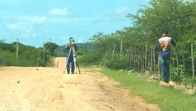 aparecida acaua 390x220 - BOA : Prefeitura de Aparecida realiza topografia para pavimentação asfáltica no Assentamento Acauã