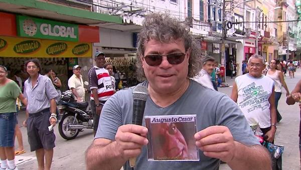 cantor - Cantor Augusto César, que estava com Covid, morre no Recife aos 61 anos