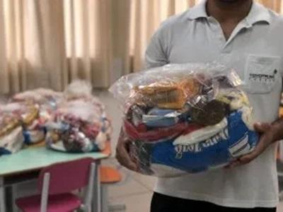 feira sf - Prefeitura de São Francisco anuncia distribuição dos kits de merenda escolar nesta sexta-feira