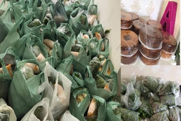 kit alimentos - Prefeitura de Vieirópolis em parceria com CRAS realiza mais uma entrega de kits de alimentos ás famílias carentes do município