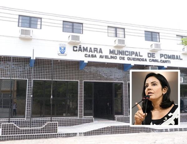pombal - COVID-19: Vereadores de Pombal rejeitam moção de aplausos a Deputada Estadual Pollyanna Dutra.