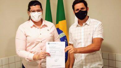 1 390x220 - A FORÇA DO TRABALHO : Prefeita de Pau dos Ferros consegue mais de R$600 Mil em emendas através do Deputado Federal Rafael Motta.