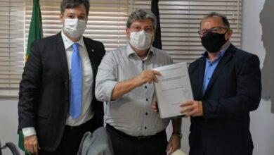 JP 390x220 - Prefeito Ceninha Lucena se reúne com o Governador João Azevedo e o Deputado Júnior Araújo por mais benefícios para o município de Bonito de Santa Fé